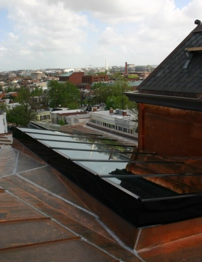 Skylight Copper Flashing